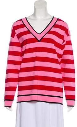 Diane von Furstenberg Stripe Long Sleeve Top