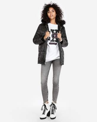 Express Camo Puffer Jacket