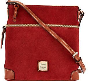 Dooney & Bourke Suede Oversized Crossbody Bag $148 thestylecure.com