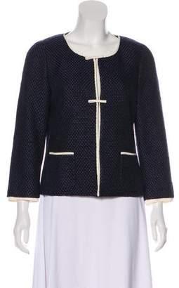 Rena Lange Tweed Silk-Blend Jacket w/ Tags