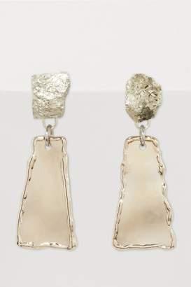Proenza Schouler Metal and stones earrings