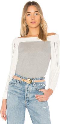 525 America Cotton Cable Sweater