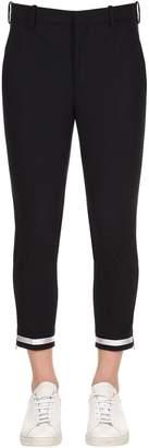 Neil Barrett 16.5cm Stretch Fine Wool Gabardine Pants