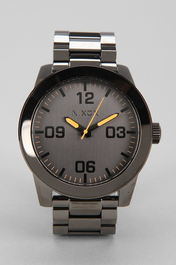 Urban Outfitters Nixon Corporal Stainless Steel Watch