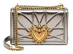Dolce & Gabbana Dolce& Gabbana Dolce& Gabbana Women's Medium Devotion Leather Crossbody Bag