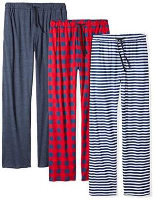 The Slumber Project Men's 3 Pack Cotton Sleep Pant Set (