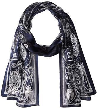 Lauren Ralph Lauren Miruna Silk Oblong Scarf Scarves