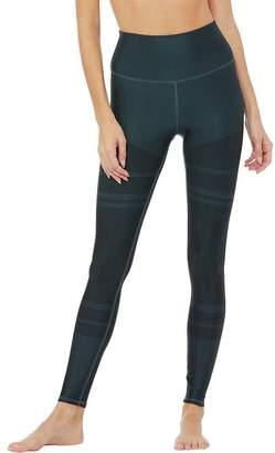 Alo Yoga High-Waist Tech Lift Airbrush Colorblock Legging - Women's