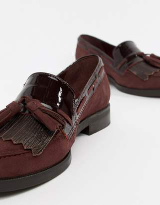 Dune Flat Suede Loafers