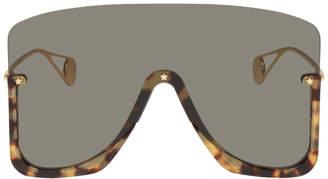 Gucci Gold Mask Sunglasses