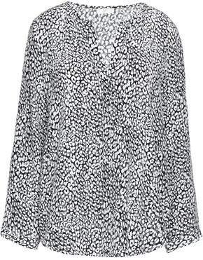 e8d24527d6ef Joie Leopard-print Silk Crepe De Chine Blouse