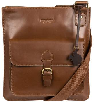 At Debenhams Conkca London Chestnut Archway Handcrafted Leather Across Body Bag
