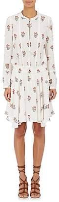 A.L.C. Women's Dasha Silk Chiffon Shirtdress $595 thestylecure.com