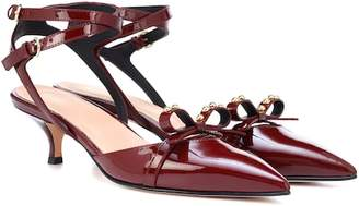 RED Valentino Patent leather slingback pumps