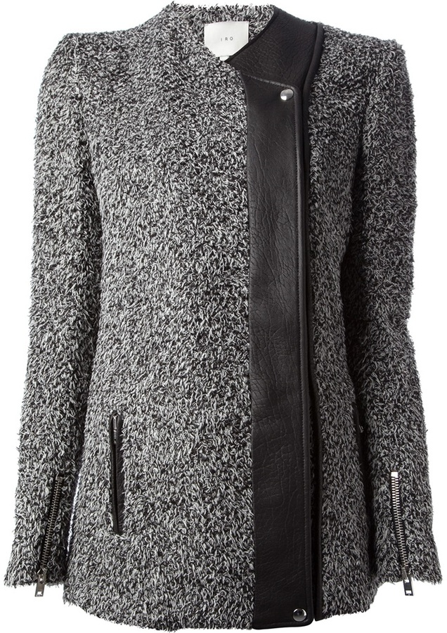 IRO single breasted coat