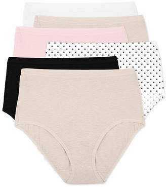Fruit of the Loom 6-Pack Womens Ultra-Soft Brief Panties - 6DPU4DB
