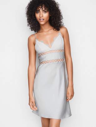 Victoria's Secret Dream Angels Satin, Lace & Rings Slip Dress