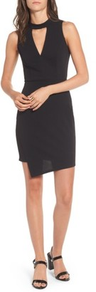 Women's Soprano Asymmetrical Body-Con Dress $42 thestylecure.com