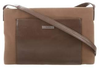 Tumi Leather-Trimmed Crossbody Bag
