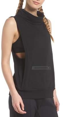 Zella Bounce Back Funnel Neck Vest