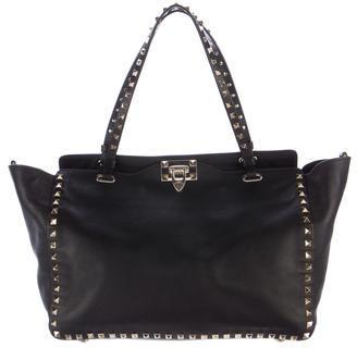 ValentinoValentino Rockstud Leather Satchel