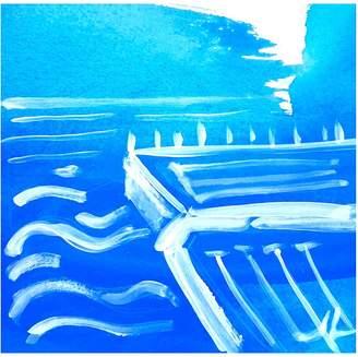 STUDY Jennifer Lia of Icebergs Pool Canvas Print, 30x45cm