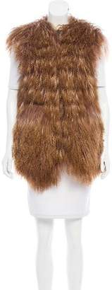 Sacai Mongolian Fur Vest