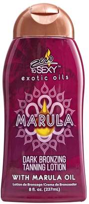 Zero To Sexy Marula Dark Bronzing Tanning Lotion
