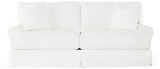 Comfy Slipcovered Sofa - White Denim - Rachel Ashwell