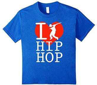 I love Hip Hop dance dab T Shirt