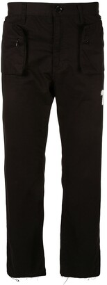Undercover zipped pockets trousers