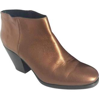 Pre-owned - Leather ankle boots Rachel Comey ShOEXLcqF4
