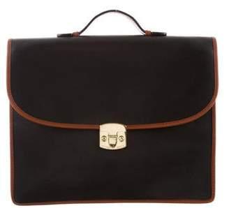 Bottega Veneta Vintage Textured Leather Briefcase