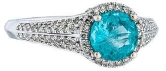 Ring 14K Apatite & Diamond