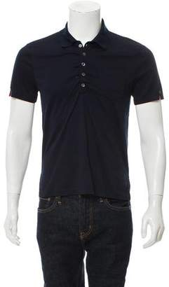 Thom Browne Button-Up Polo Shirt