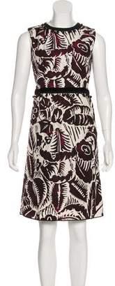 Marc Jacobs Printed Knee-Length Dress