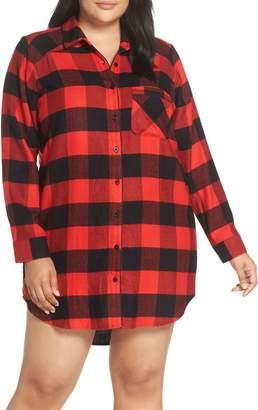 Nordstrom Flannel Nightshirt