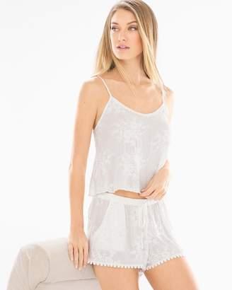 In Bloom Bird Song Cami and Shorts Pajama Set