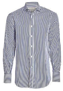 Brunello Cucinelli Men's Stripe Button-Down Shirt