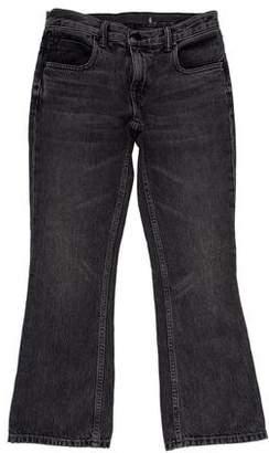Alexander Wang Denim x Mid-Rise Crop Jeans