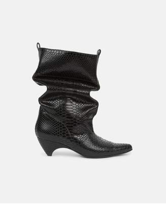 Stella McCartney Black Slouchy Boots