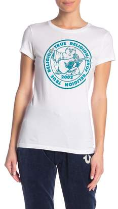 True Religion Graphic Buddha Logo Tee