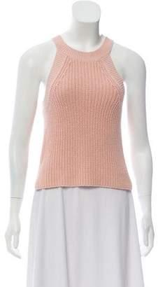 Intermix Knit Sleeveless Top