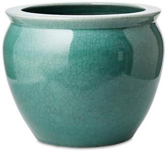 One Kings Lane Fish Bowl Planter - Turquoise