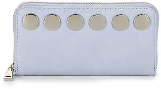 French Connection Women's Studded Zip-Around Wallet