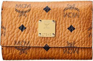 MCM Visetos Three Fold Flap Wallet
