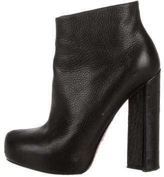 Alejandro Ingelmo Leather Ankle Boots