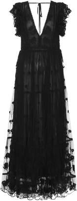 Ulla Johnson Fifi embroidered maxi dress