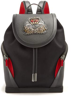 Christian Louboutin Explorafunk stud-embellished backpack