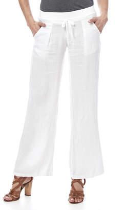 Laundry by Shelli Segal Fresh White Beachy Pant